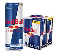 Red Bull Energy Drink - 4-8.4 Fl. Oz.