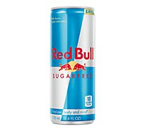 Red Bull Energy Drink Sugar Free Can - 8.4 Fl. Oz.