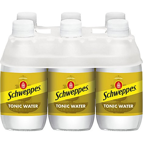 Schweppes Tonic Water - 6-10 Fl. Oz.
