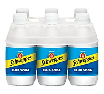 Schweppes Soda Club - 6-10 Fl. Oz.