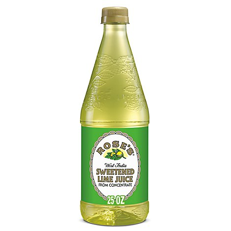 Roses Lime Juice Sweetend - 25 Fl. Oz.