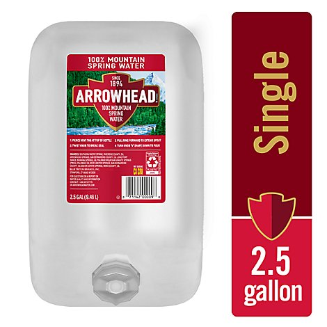 ARROWHEAD Spring Water Mountain - 2.5 Gallon