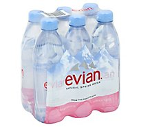 evian Spring Water Natural - 6-1.05 Pint