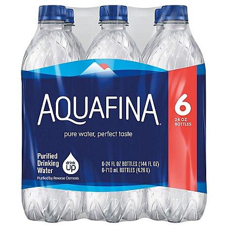 Aquafina Drinking Water Purified - 6-24