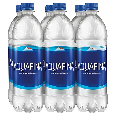Aquafina Drinking Water Purified - 6-24 Fl. Oz.