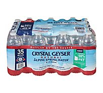 Crystal Geyser Spring Water Natural Alpine - 35-16.9 Fl. Oz.