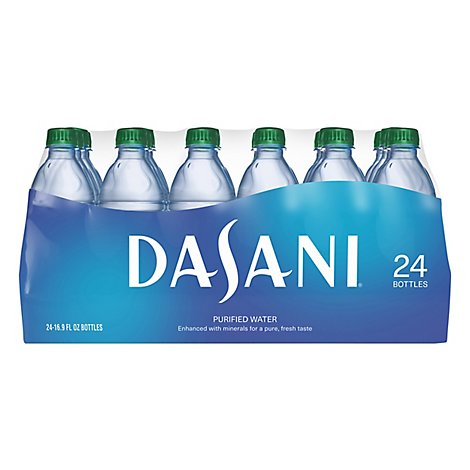 DASANI Purified Water - 24-16.9 Fl. Oz.