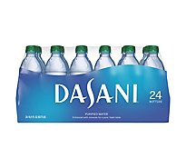 Dasani Water Purified Enhanced With Minerals Bottled 24 Count - 16.9 Fl. Oz.