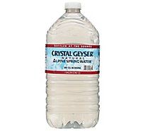 Crystal Geyser Natural Alpine Spring Water - 1 Gallon