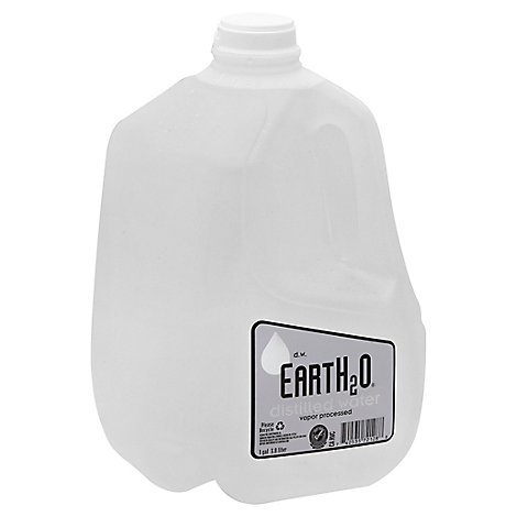 EartH2O Distilled Water - 1 Gallon