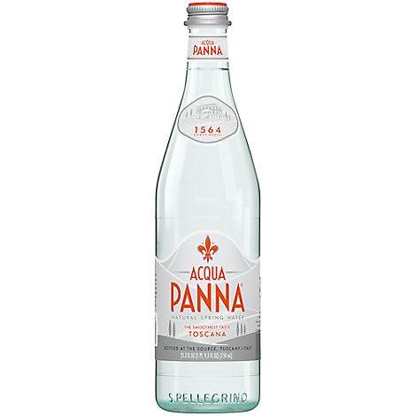 Acqua Panna Spring Water Natural - 25.3 Fl. Oz.
