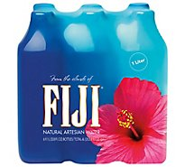 FIJI Artesian Water Natural - 6-33.8 Fl. Oz.