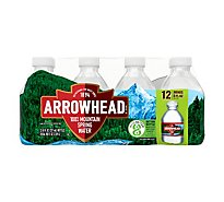 Arrowhead 100% Mountain Spring Water - 12-8 Fl. Oz.