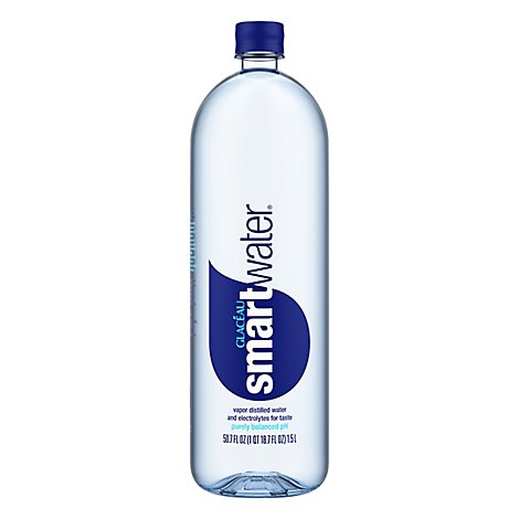 smartwater Vapor Distilled Water - 1.5 Liter