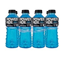 POWERADE Sports Drink Electrolyte Enhanced Mountain Berry Blast - 8-20 Fl. Oz.