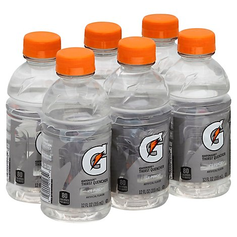 Gatorade G Series Thirst Quencher Ice Punch - 6-12 Fl. Oz.