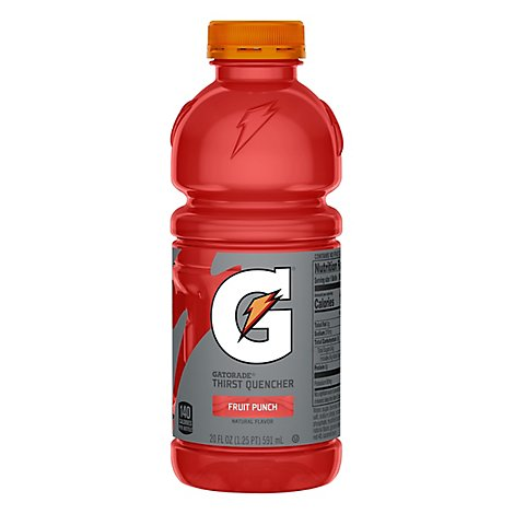 Gatorade G Series Thirst Quencher Fruit Punch - 20 Fl. Oz.