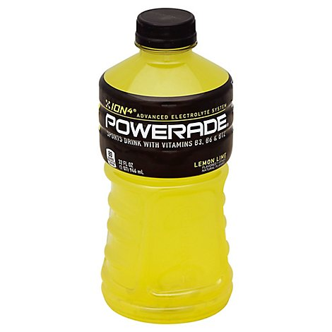 POWERADE Sports Drink Lemon Lime - 32 Fl. Oz.