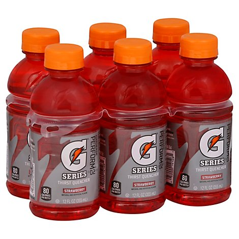 Gatorade G Series Thirst Quencher 02 Strawberry - 6-12 Fl. Oz.