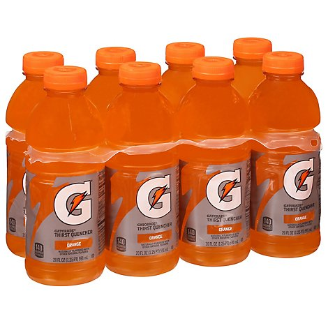 Gatorade G Series Thirst Quencher Orange - 8-20 Fl. Oz.