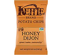 Kettle Potato Chips Honey Dijon - 8.5 Oz