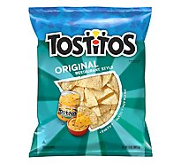 Tostitos Tortilla Chips Restaurant Style Original - 13 Oz