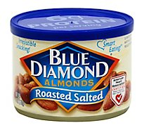 Blue Diamond Almonds Roasted Salted - 6 Oz
