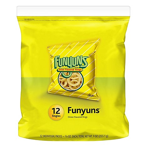 Funyuns Onion Flavored Rings - 12-0.75 Oz