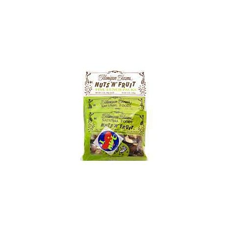 Flanigan Farms Nuts N Fruit Five Lunch Packs - 5-1 Oz