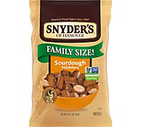 Synders of Hanover Pretzels Nibblers Sourdough The Pounder - 16 Oz