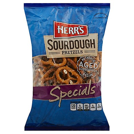 Herrs Pretzels Sourdough Specials San Francisco Style - 16 Oz