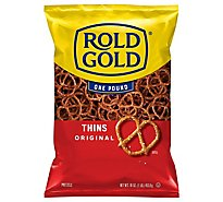 ROLD GOLD Pretzels Thins Original - 16 Oz