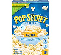 Pop Secret Microwave Popcorn Premium Light Butter Pop-and-Serve Bags - 3-3 Oz