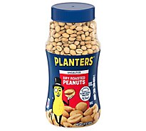 Planters Peanuts Dry Roasted Unsalted - 16 Oz