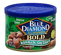 Blue Diamond Almonds Bold Wasabi & Soy Sauce - 6 Oz