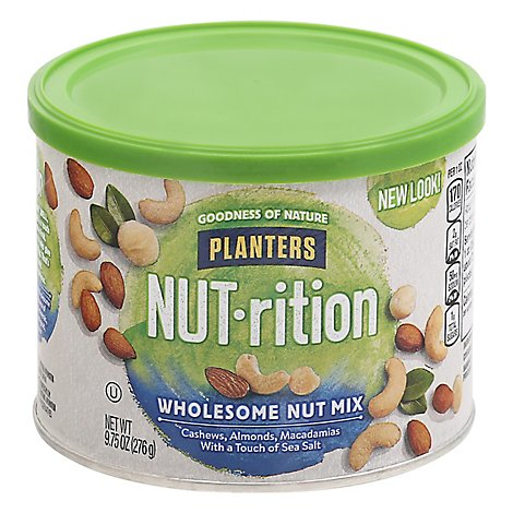 Planters NUT-rition Nut Mix Wholesome - 9.75 Oz
