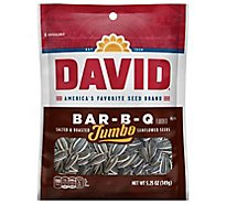 DAVID Sunflower Seeds Roasted & Salted Bar-B-Q - 5.25 Oz