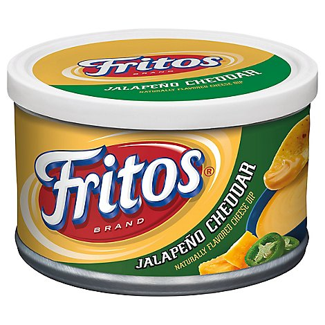 Frito Lay Dip Flavored Cheese Jalapeno Cheddar - 9 Oz