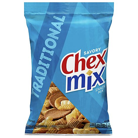 Chex Mix Snack Mix Savory Traditional - 8.75 Oz