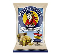 Pirates Booty Rice & Corn Puffs Baked Aged White Cheddar - 4 Oz