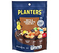 Planters Trail Mix Nuts & Chocolate Bag - 6 Oz