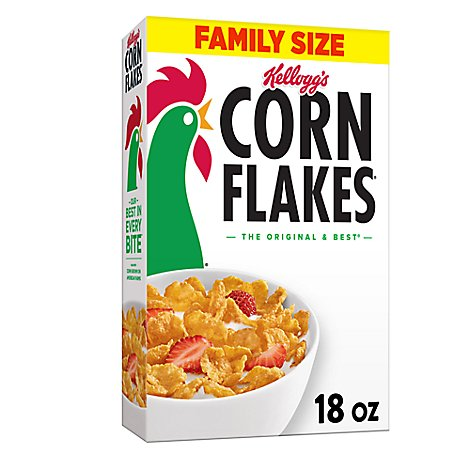 Kelloggs Corn Flakes Cereal - 18 Oz