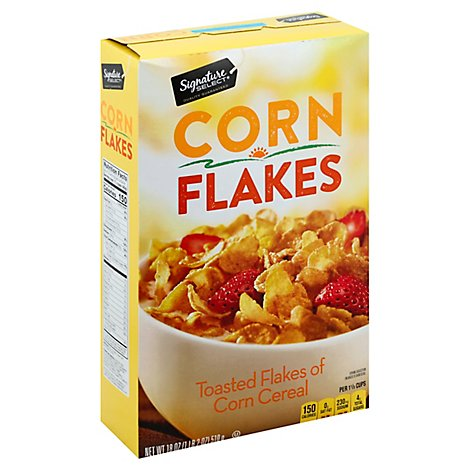 Signature SELECT/Kitchens Cereal Corn Flakes - 18 Oz
