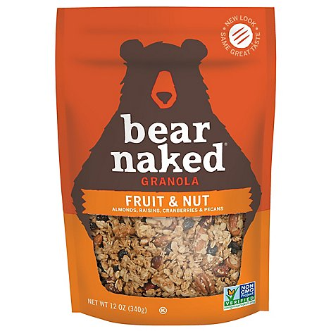 Bear Naked Granola Goodie Bag Fruit and Nutty - 12 Oz