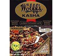 Wolffs Roasted Buckwheat Kasha Cereal - 13 Oz