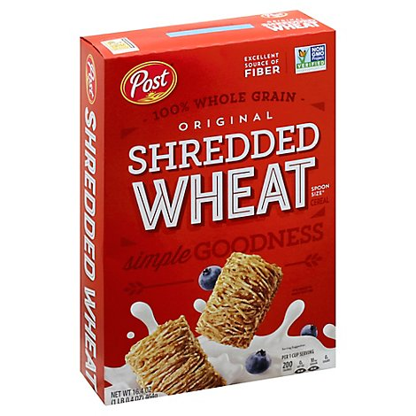 Shredded Wheat Cereal Original Spoon Size - 16.4 Oz