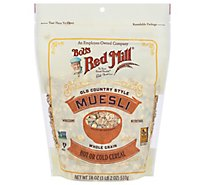 Bobs Red Mill Cereal Hot or Cold Old Country Style Muesli Whole Grain - 18 Oz
