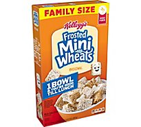 Frosted Mini-Wheats Breakfast Cereal Original Family Size - 24 Oz