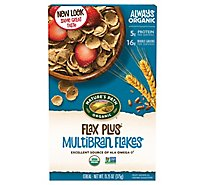 Natures Path Organic Flax Plus Cereal Multibran Flakes - 13.25 Oz