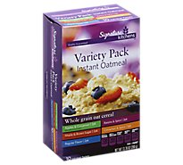 Signature SELECT/Kitchens Oatmeal Instant Variety Pack 10 Count - 13.76 Oz